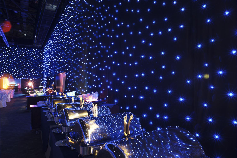 Logic stretch clairage led rideau led - Rideau star wars ...